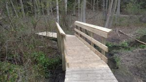 New Red Trail Bridge